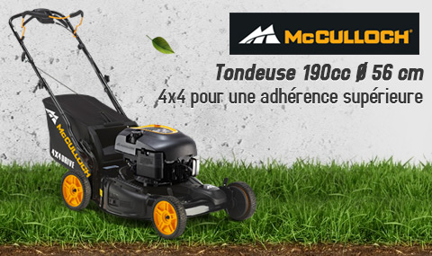 informations tondeuse McCulloch M56-190AWFPX
