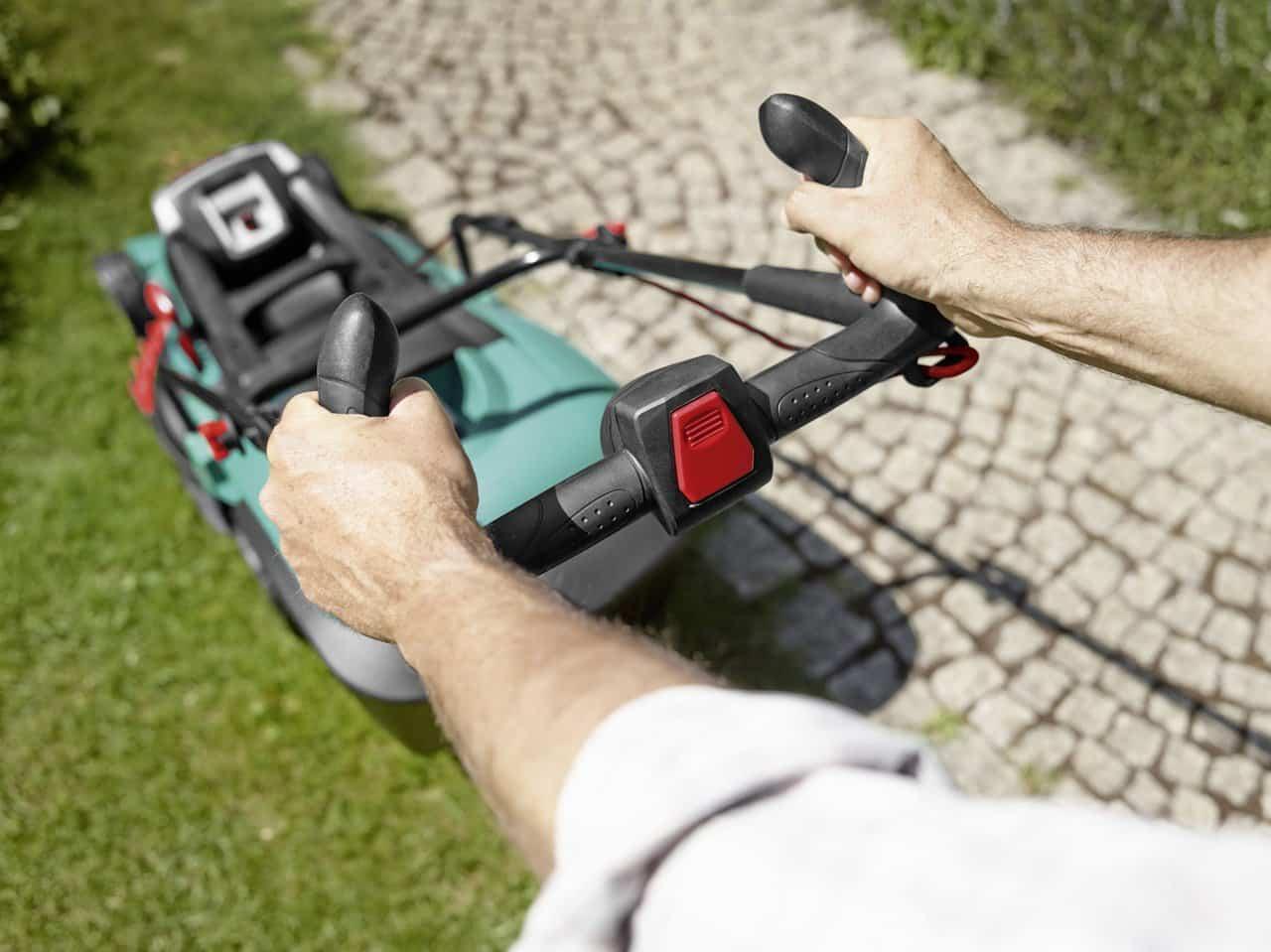 Bosch rotak 43 Li tondeuse à gazon électrique sans fil