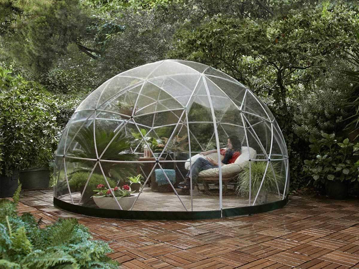 photo garden igloo